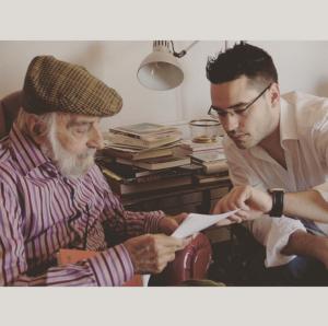 Entrevista a Palau i Fabre | Foto: Diari Mataró