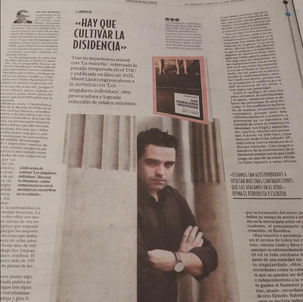 Matías Néspolo, 'El Mundo'