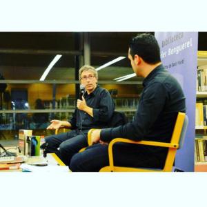 Con David Trueba |Foto: Jordi Casañas